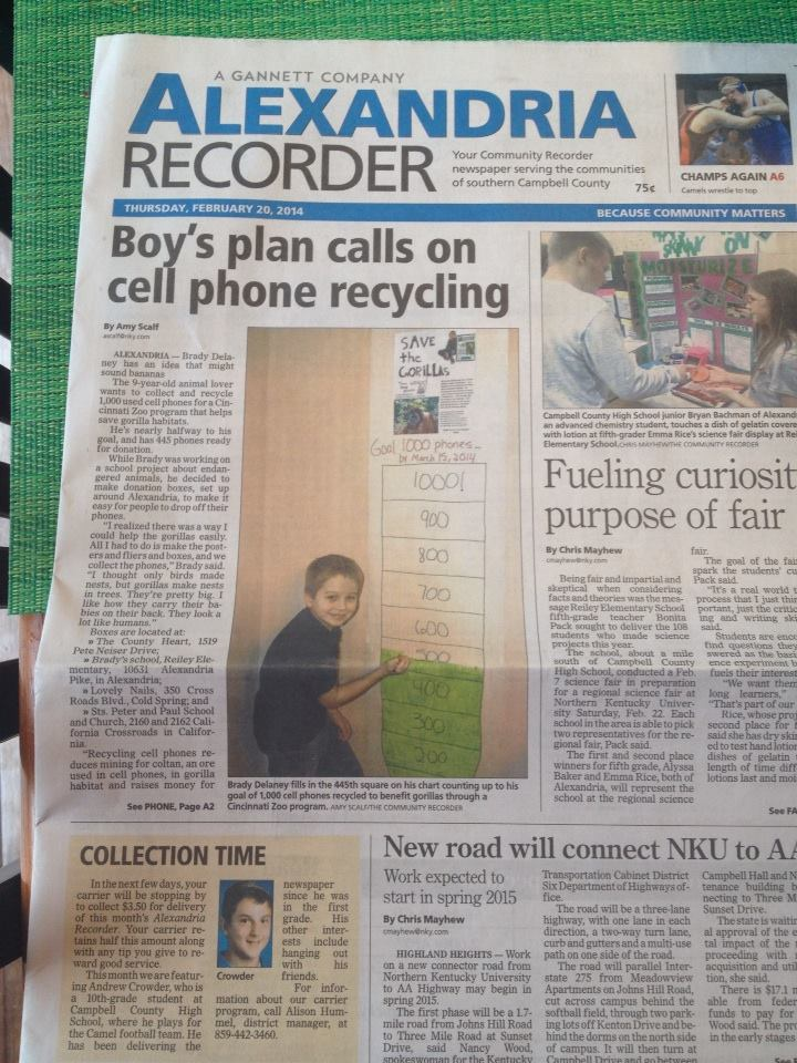 Making a Difference~One cell phone at a time!