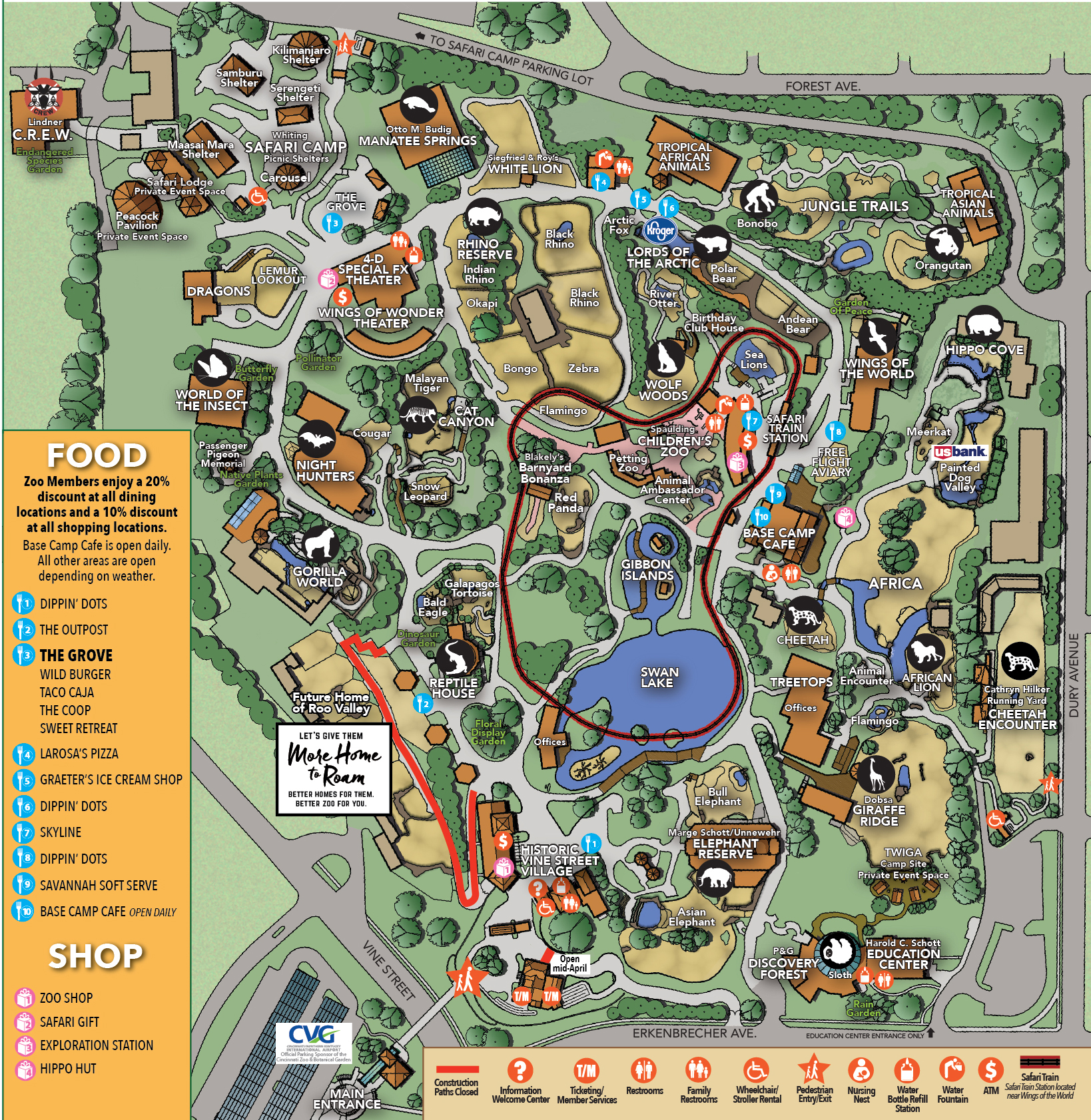 Hours & Directions - Cincinnati Zoo & Botanical Garden®