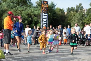 Two year old age group run in the Cub Run