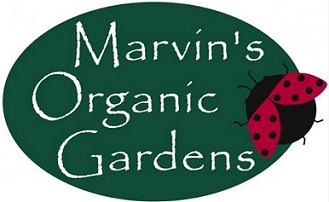 Marvin's Organic Gardens logo