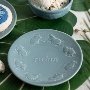 Fiona dessert plate from Rookwood Pottery