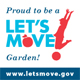 Proud to be a Let's Move! Garden!
