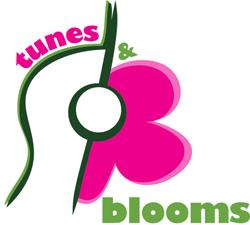 tunes & blooms logo