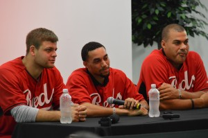 Devin, Billy and Donald Fielding Tough Questions at the Zoo