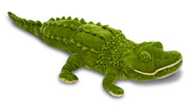 Large alligator plush