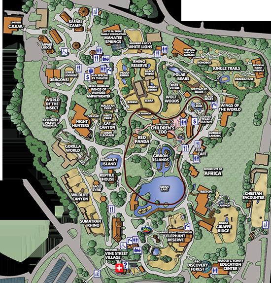Gallery For Gt Cincinnati Zoo Map