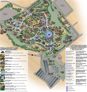 Little Spring Map The Cincinnati Zoo Amp Botanical Garden