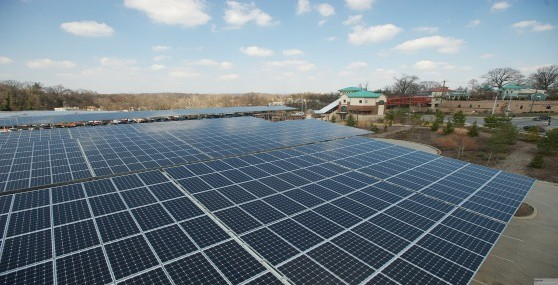 Press Room Solar Canopy