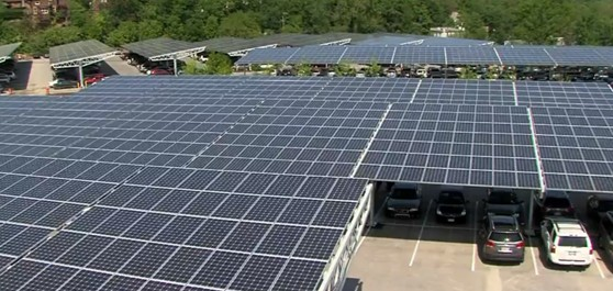 Largest Publicly Accessible Urban Solar Array The