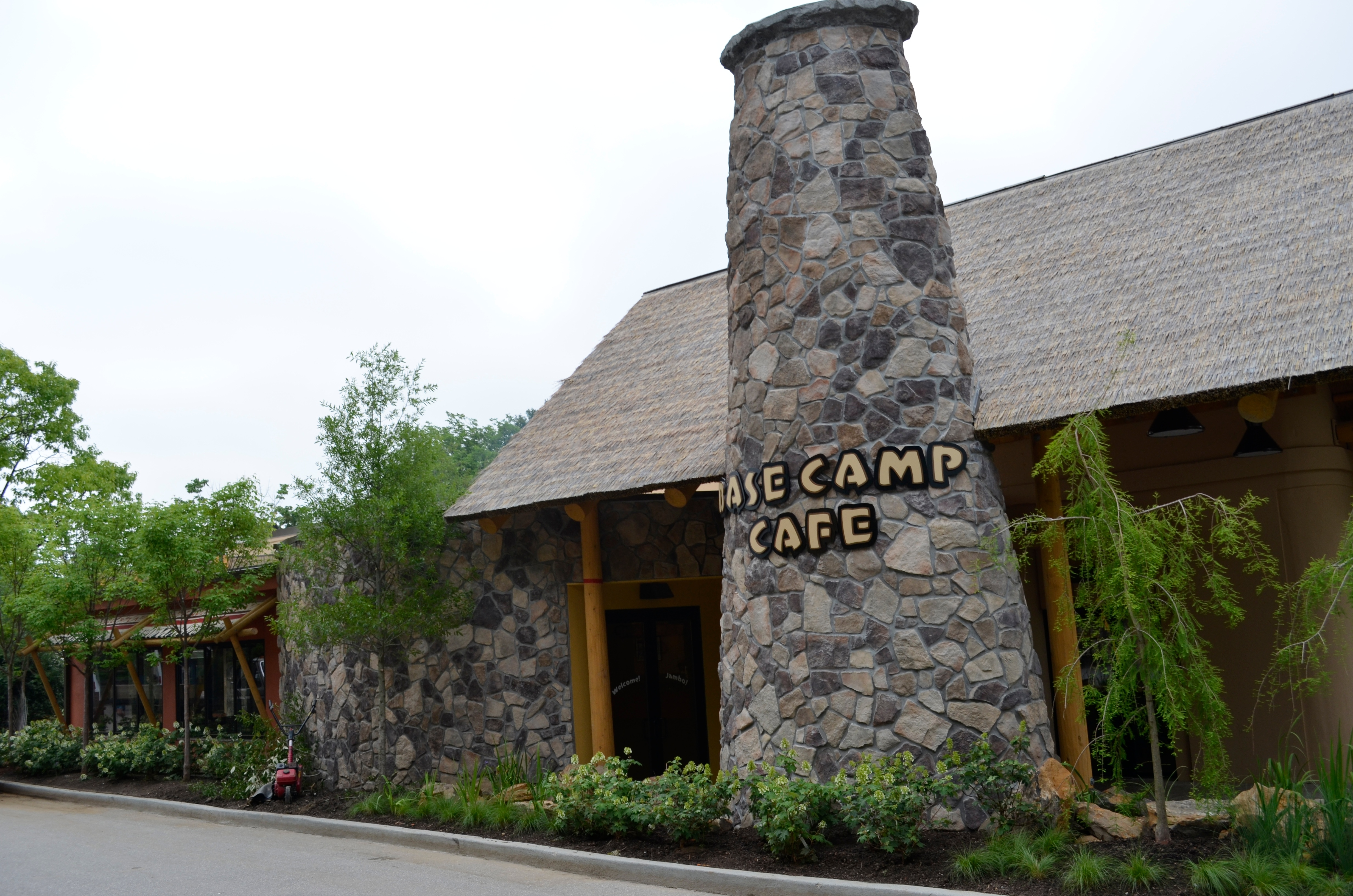 Base Camp Cafe Cincinnati Zoo 1