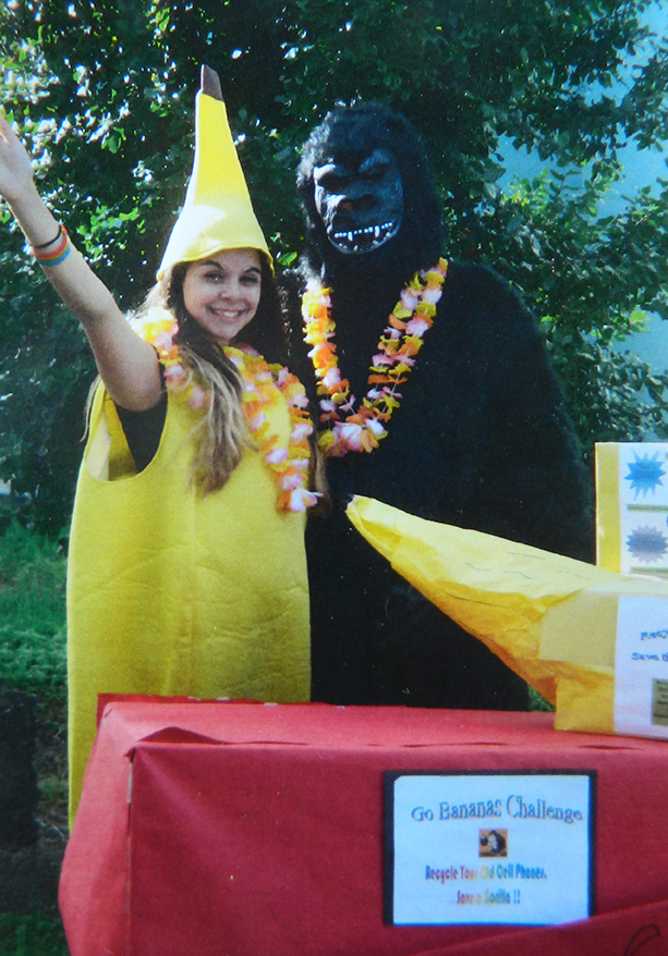 Go Bananas Challenge - Gorilla and Dancing Banana