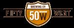 50 West logo