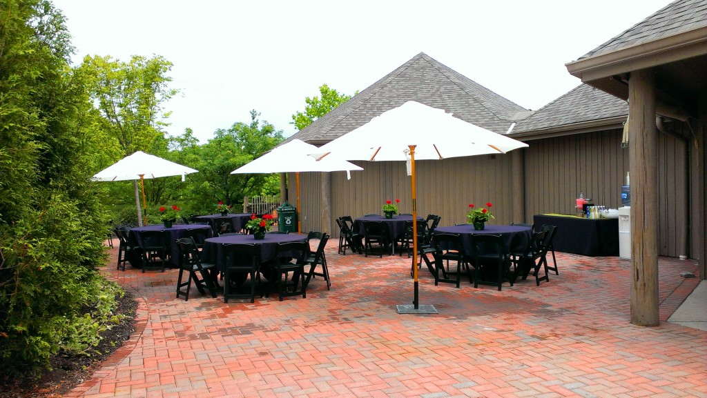 Peacock Courtyard Lunch