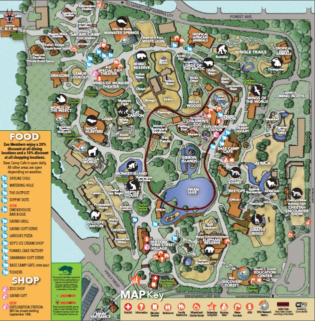 Hours Amp Directions The Cincinnati Zoo Amp Botanical Garden