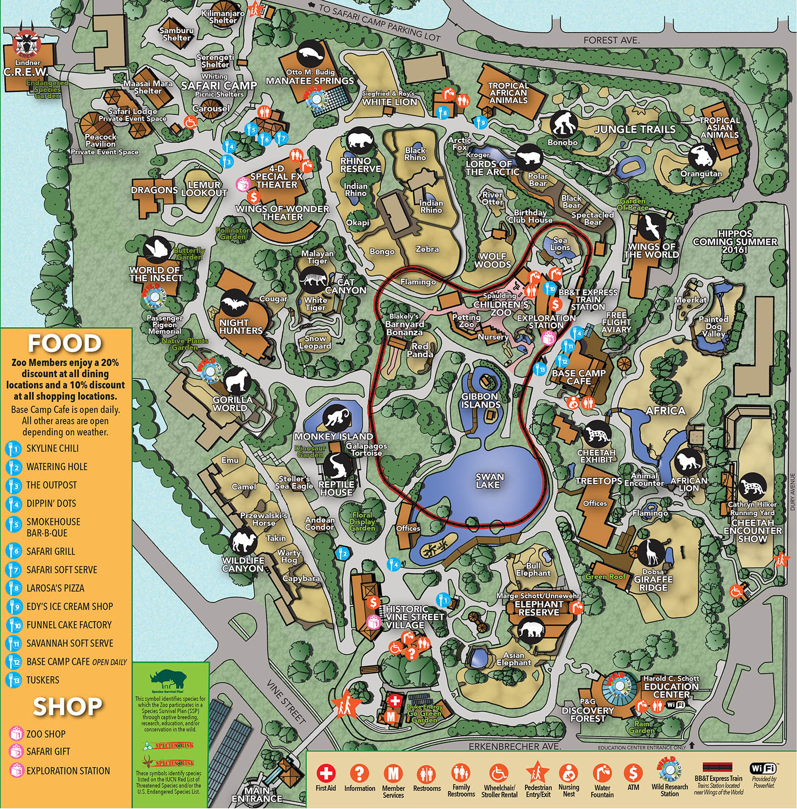 columbus zoo map 2016 bnhspinecom