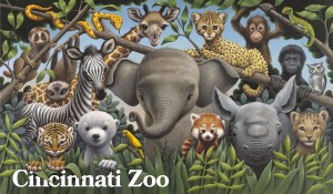 Zoo Babies Poster