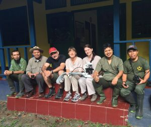 Team from Cincinnati Zoo & Botanical Garden, Sumatran Rhino Sanctuary and Taronga Western Plains Zoo
