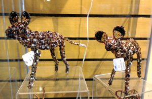 Wire snare art for sale at Zoo gift shop (Photo: Shasta Bray)