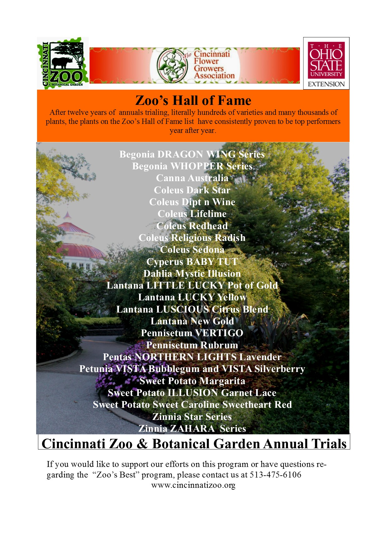 Zoou0027s Hall Of Fame Annuals