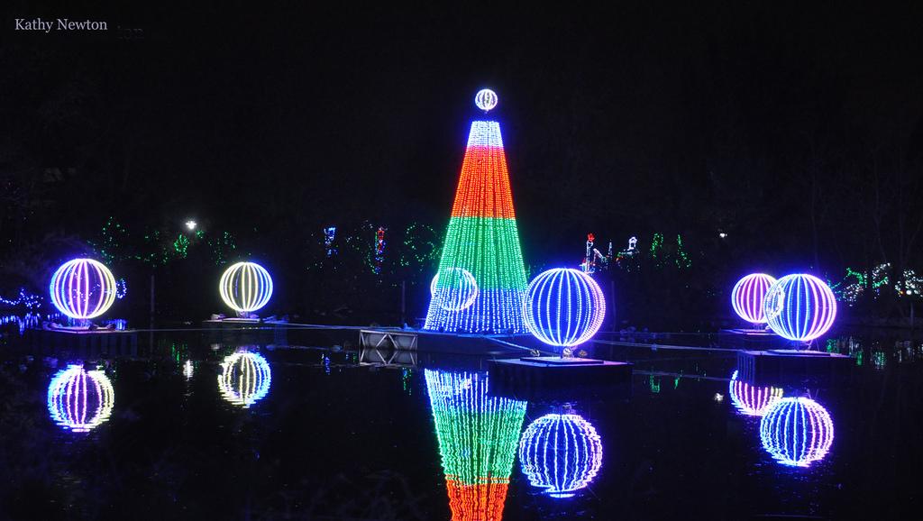 Lake festival of lights