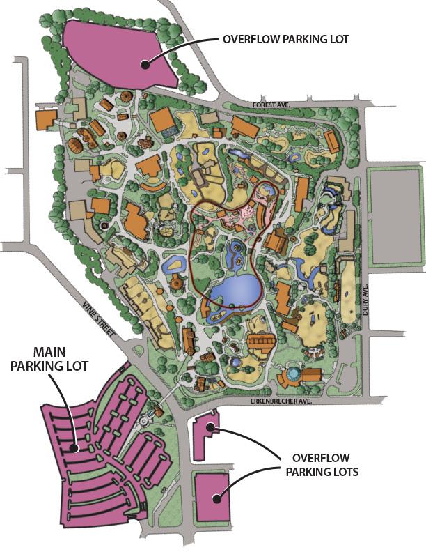 Cincinnati Zoo Map Hours & Directions   Cincinnati Zoo & Botanical Garden® Cincinnati Zoo Map